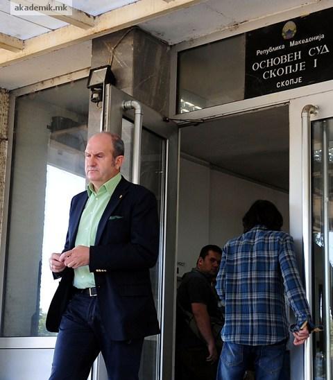 ОДБИЕНА ЖАЛБАTA: Владо Бучковски да се јави во КПУ Затвор – Скопје по правосилноста на решението