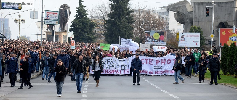 """Разговор со Бојан Матовски, активист на Студентски Пленум: """"Одиме чекор по чекор – ниту молкот, ниту апсурдниот предлог не е решение за туѓите грешки"""""""