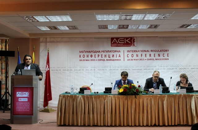 (ФОТО) ПРИЈАТЕЛСКА СОРАБОТКА И НОВИ ТРЕНДОВИ ВО ТЕЛЕКОМУНИКАЦИИТЕ: Трета меѓународна регулаторна конференција