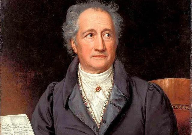 Јохан Волфганг фон Гете, адвокат и вљубеник во убавините на римското право