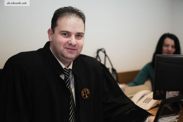 Владимир Панчевски, претседател на Основен суд Скопје 1