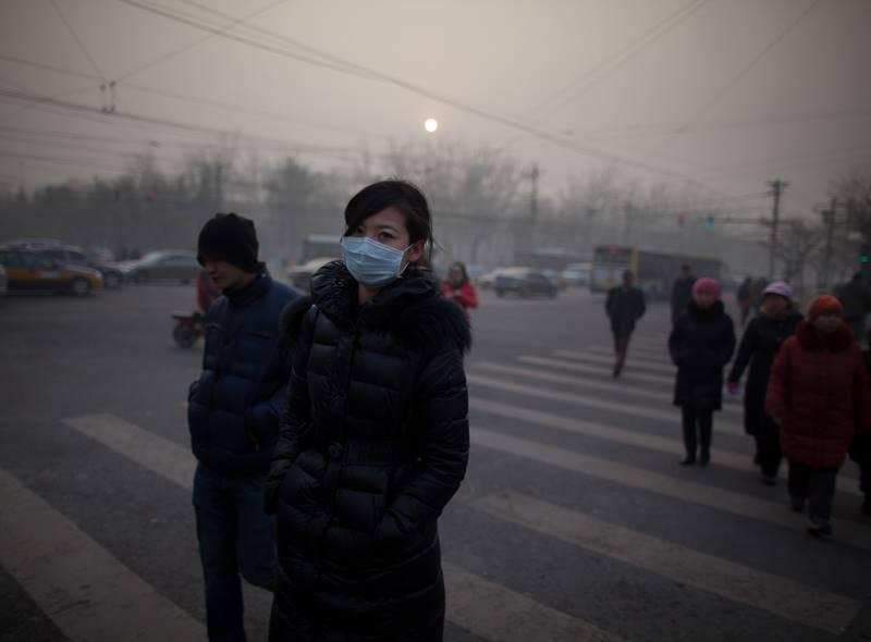 Кина загадување